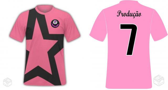 Camisetas de time personalizadas