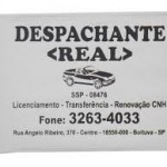 carteirinha despachante