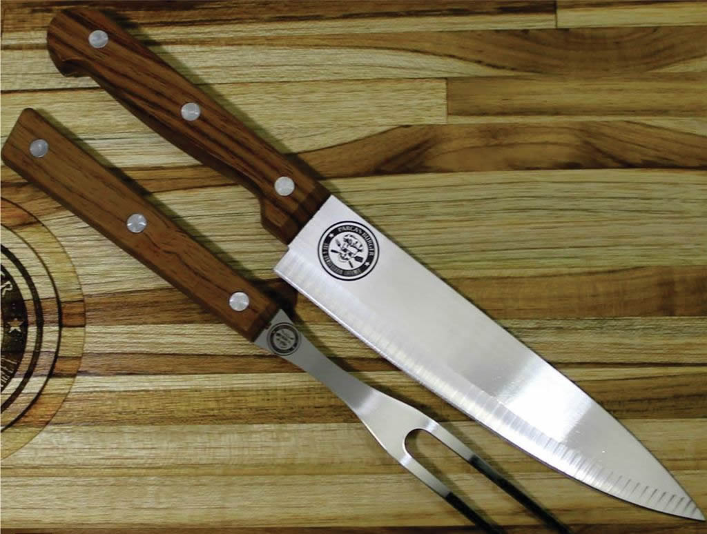 Conjunto garfo e faca