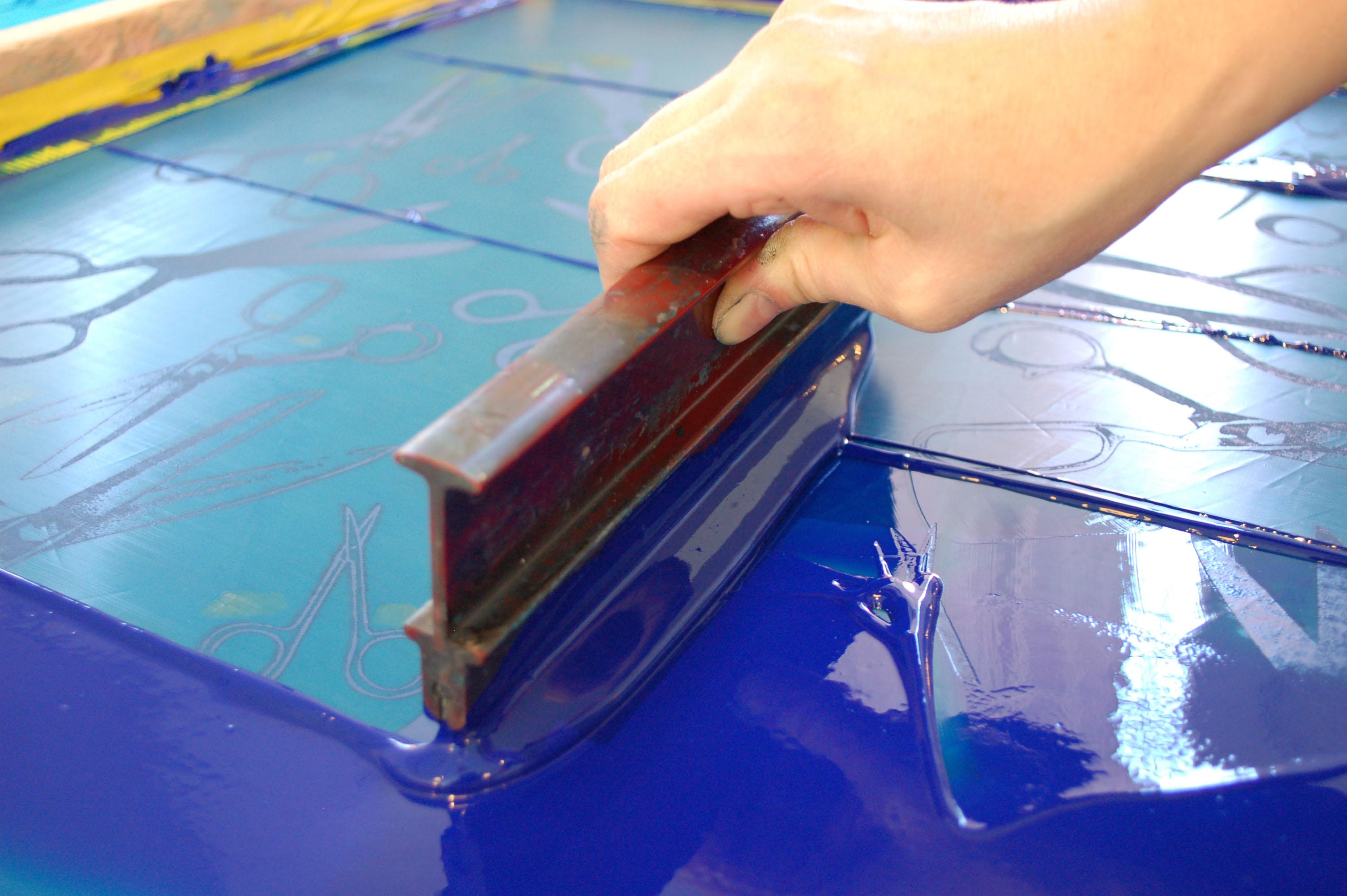 Impressão com Silk Screen